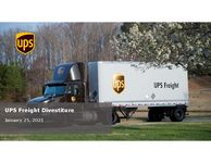 UPS Freight Divestiture Overview